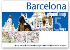 Popout Maps - Barcelona