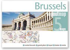 Popout Maps - Brussels