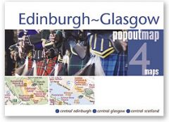 Popout Maps - Edinburgh-Glasgow