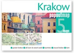 Popout Maps - Krakow