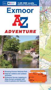 A-Z Adventure Atlas - Exmoor