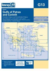 Imray G Chart - Gulfs of Patras & Cornith (G13)