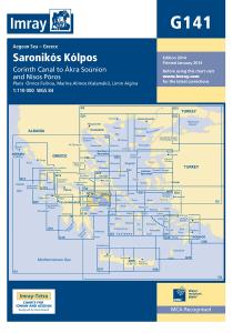 Imray G Chart - Saronikos Kolpos Cornith To Akra Sounio (G141)