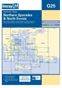 Imray G Chart - Northern Sporades & North Evvoia (G25)