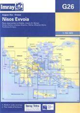 Imray G Chart - Nisos Evvoia (G26)