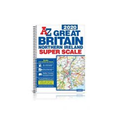 Great Britain Super Scale A-Z Road Atlas 2020 (A3)