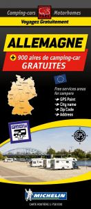 Michelin Motorhome Park Map - Germany (Allemagne)