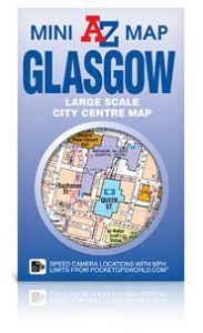 A-Z Mini Map - Glasgow