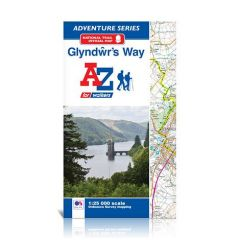A-Z Adventure Atlas - Glyndwr's Way
