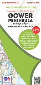 The Little Map Company - Route Finder - Gower Peninsula