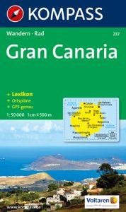 Kompass Maps - Gran Canaria 237 GPS
