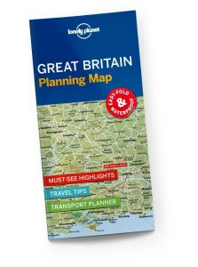 Lonely Planet - Planning Map - Great Britain