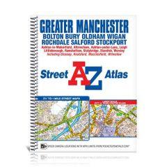 A-Z Street Spiral Atlas - Greater Manchester