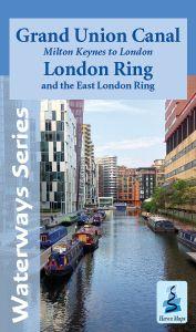 Heron Waterway Map - Grand Union - Milton Keynes To London & East Ring