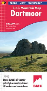 Harvey British Mountain Map - BMC - Dartmoor