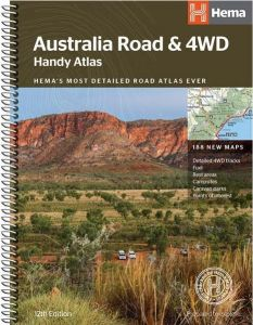 Hema Australia Atlas & Guides - Handy Atlas Road & 4wd