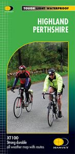 Harvey Cycle Map - Highland Perthshire