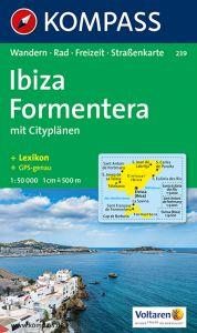 Kompass Maps - Ibiza & Formentera 239 GPS