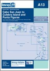 Imray A Chart - Cabo San Juan To Culebra Is & Punta Figuras (A13)