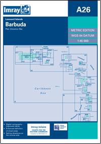 Imray A Chart - Barbuda (A26)