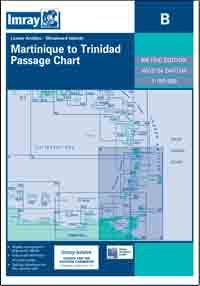 Imray B Chart - Lesser Antilles - Martinique To Trinidad (B)