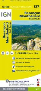 IGN Top 100 - Besancon / Montbeliard / Haut-Doubs / Pays Montbeliard