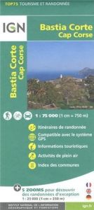 IGN Top 75 - Bastia Corte, Cap Corse