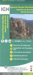 IGN Top 75 - Ajaccio Porto-Vecchio, Aiguilles De Bavella, Mont Renoso