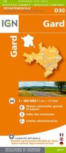 IGN Departmental - Gard - Herault D30-34