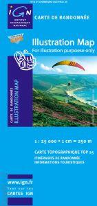 IGN Top 25/Bleue - Awala-Yalimapo (Guyana) (4701)