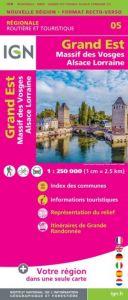 IGN Regional - Grand Est - Massif des Vosges - Alsace - Lorraine