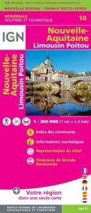 IGN Regional - Nouvelle-Aquitaine - Limousin - Poitou