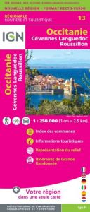 IGN Regional - Occitanie - Cevennes - Languedoc - Roussillon