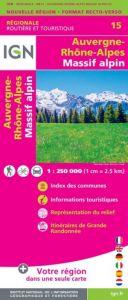 IGN Regional - Auvergne - Rhone-Alpes - Massif Alpin