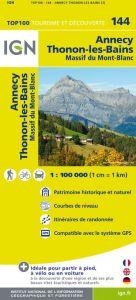 IGN Top 100 - Annecy / Albertville / Chamonix-Mont-Blanc