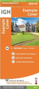 IGN Departmental - Alpes-de-Haute-Provence - Hautes-Alpes - D04-05