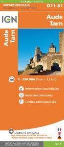 IGN Departmental - Aude - Tarn - D11-81