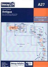 Imray A Chart - Antigua (A27)