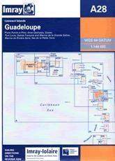 Imray A Chart - Guadeloupe (A28)