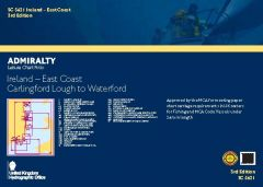Admiralty Leisure Chart Folio - Ireland - East Coast