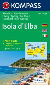 Kompass Maps - Isola D'Elba 2468 GPS