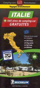 Michelin Motorhome Park Map - Italy (Italie)