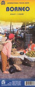 ITMB - World Maps - Borneo / Kalimantan