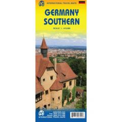 ITMB - World Maps - Germany Southern