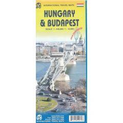 ITMB - World Maps - Hungary & Budapest