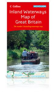 Collins Nicholson - Waterways Guide - Inland Waterways Map - GB