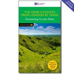 OS Crimson Pathfinder Guide - Country Walks Near London