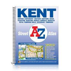 A-Z Street Spiral Atlas - Kent