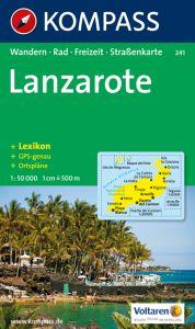 Kompass Maps - Lanzarote 241 GPS