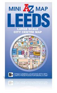A-Z Mini Map - Leeds